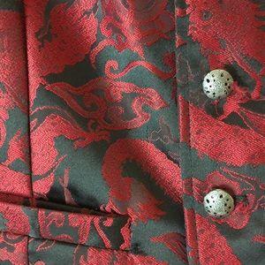 Wah Maker USA Jackets & Coats - Scully Oriental Waistcoat